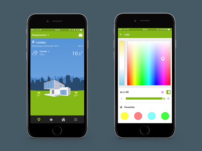 Personalisierte Startseite + Beleuchtung