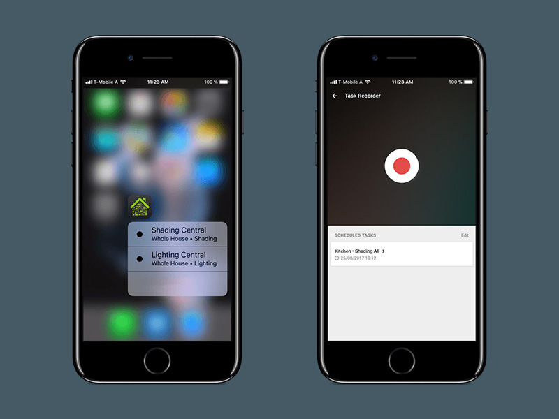 Quick Actions + Task Recorder
